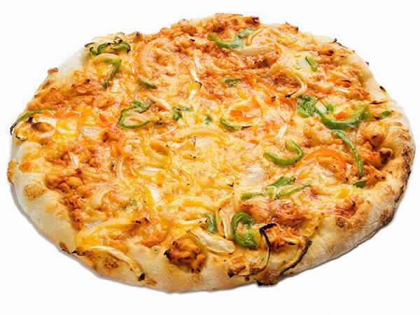 Pizza Pollo barbacoa y Cheddar