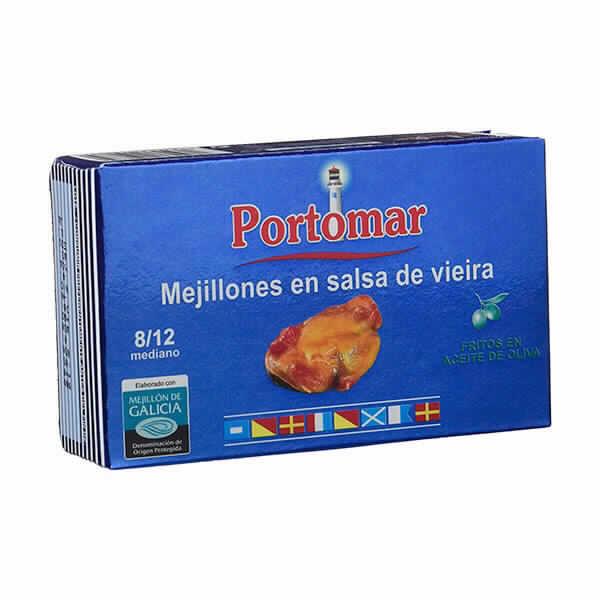 Mejillones en Salsa de Vieira Rías Gallegas